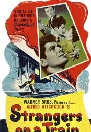 L'affiche du film L'inconnu du Nord-Express