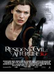 Affiche du film Resident Evil : Afterlife 3D