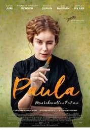 L'affiche du film Paula