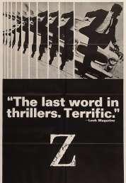 L'affiche du film Z