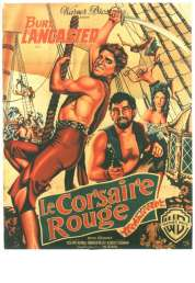 Affiche du film Le corsaire rouge