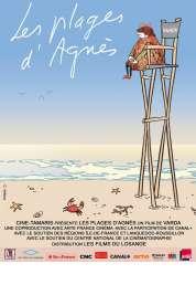 L'affiche du film Les Plages d'Agnès