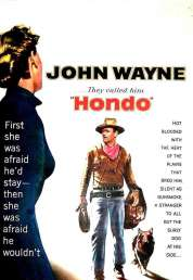 Affiche du film Hondo l'homme du Desert
