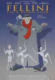 Affiche du film Fellini : «je suis un grand menteur»