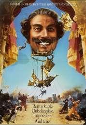 Affiche du film Les aventures du Baron de Munchausen