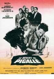 Affiche du film Le Desert de Pigalle
