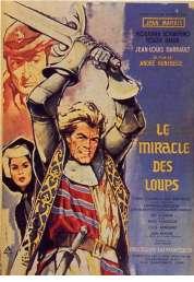 Affiche du film Le miracle des loups