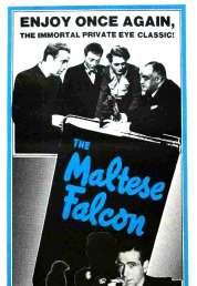 L'affiche du film Le faucon maltais