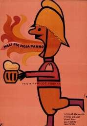 L'affiche du film Au feu les pompiers !