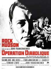 Affiche du film L'opération diabolique