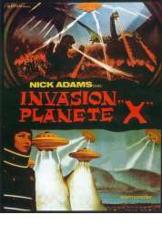 Affiche du film Invasion planète X