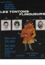 L'affiche du film Les tontons flingueurs