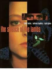 L'affiche du film Le silence des agneaux
