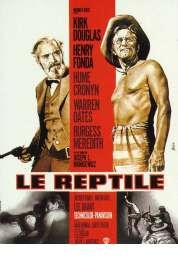 Affiche du film Le reptile