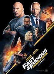 L'affiche du film Fast & Furious : Hobbs & Shaw