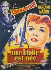 L'affiche du film Une étoile est née