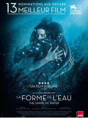 L'affiche du film La Forme de l'eau - The Shape of Water