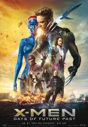 Affiche du film X Men: Days of Future Past