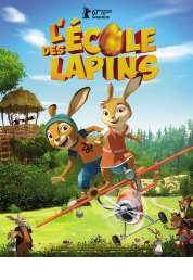 L'affiche du film L'Ecole des lapins