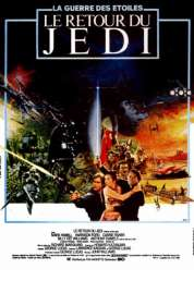 Affiche du film Star Wars  Episode 6 - Le Retour du Jedi