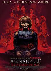L'affiche du film Annabelle – La Maison Du Mal