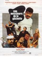 Affiche du film Ces Messieurs de la Gachette