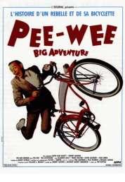 Affiche du film Pee Wee big adventure