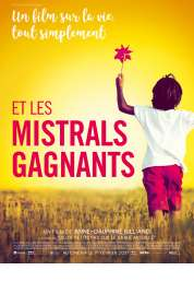 L'affiche du film Et les mistrals gagnants