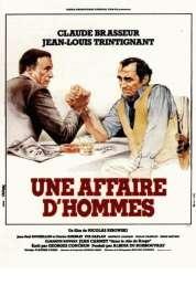 Affiche du film Une Affaire d'hommes