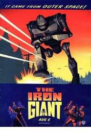 L'affiche du film Le géant de fer