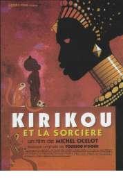 L'affiche du film Kirikou et la sorcière