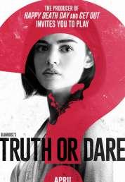 L'affiche du film Action ou vérité