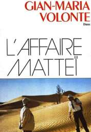 Affiche du film L'affaire Mattei