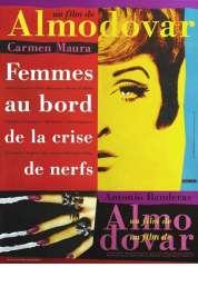 L'affiche du film Femmes au bord de la crise de nerfs