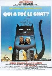 L'affiche du film Qui a Tue le Chat