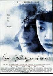 Affiche du film La neige tombait sur les cèdres