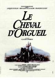 Affiche du film Le cheval d'orgueil