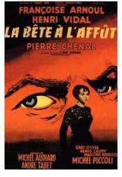 Affiche du film La Bete a l'affut