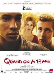 Affiche du film Quand on a 17 ans