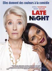 L'affiche du film Late Night