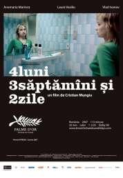 Affiche du film 4 mois, 3 semaines et 2 jours