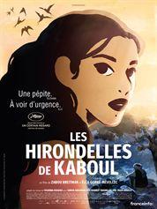 L'affiche du film Les Hirondelles de Kaboul