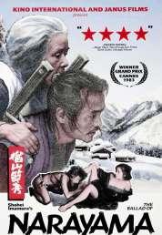 L'affiche du film La ballade de Narayama