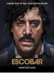 L'affiche du film Escobar