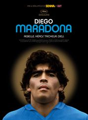 L'affiche du film Diego Maradona