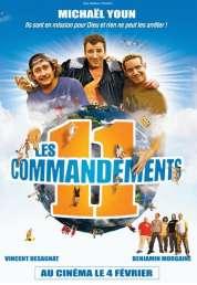 Affiche du film Les 11 commandements