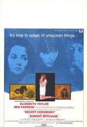 L'affiche du film Cérémonie secrète
