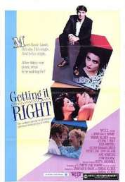 Affiche du film Getting It Right