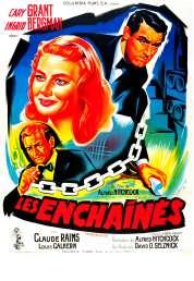 L'affiche du film Les enchaînés