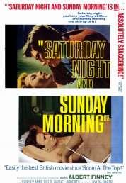 L'affiche du film Samedi Soir Dimanche Matin